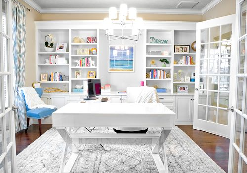 Marta Miner's Home Office