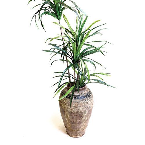 Spanish terra cotta vase