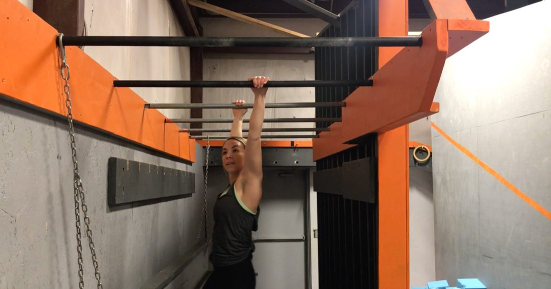 Monkey bars ninja warrior gym