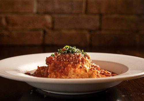 Nonna's Lasagna Arrabbiata
