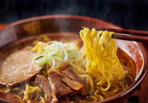 Four Asian Noodle Dishes