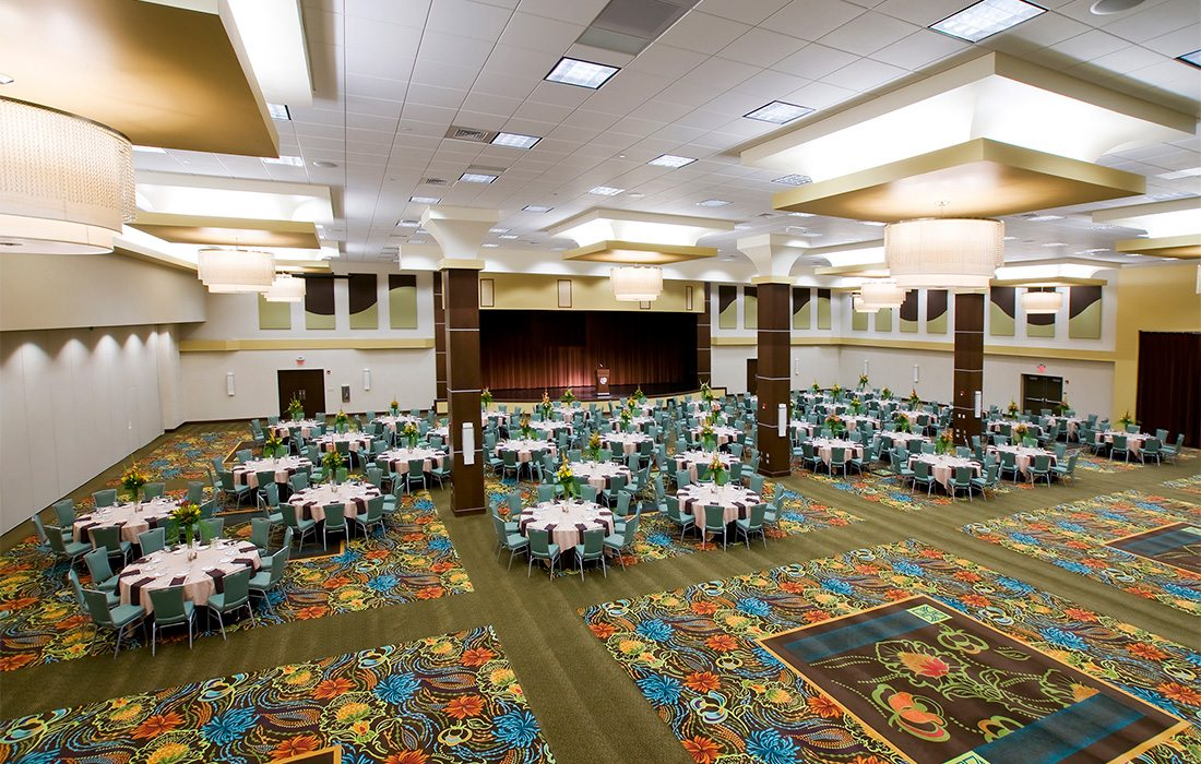 Event space at Oasis Hotel & Convention Center in Springfield MO