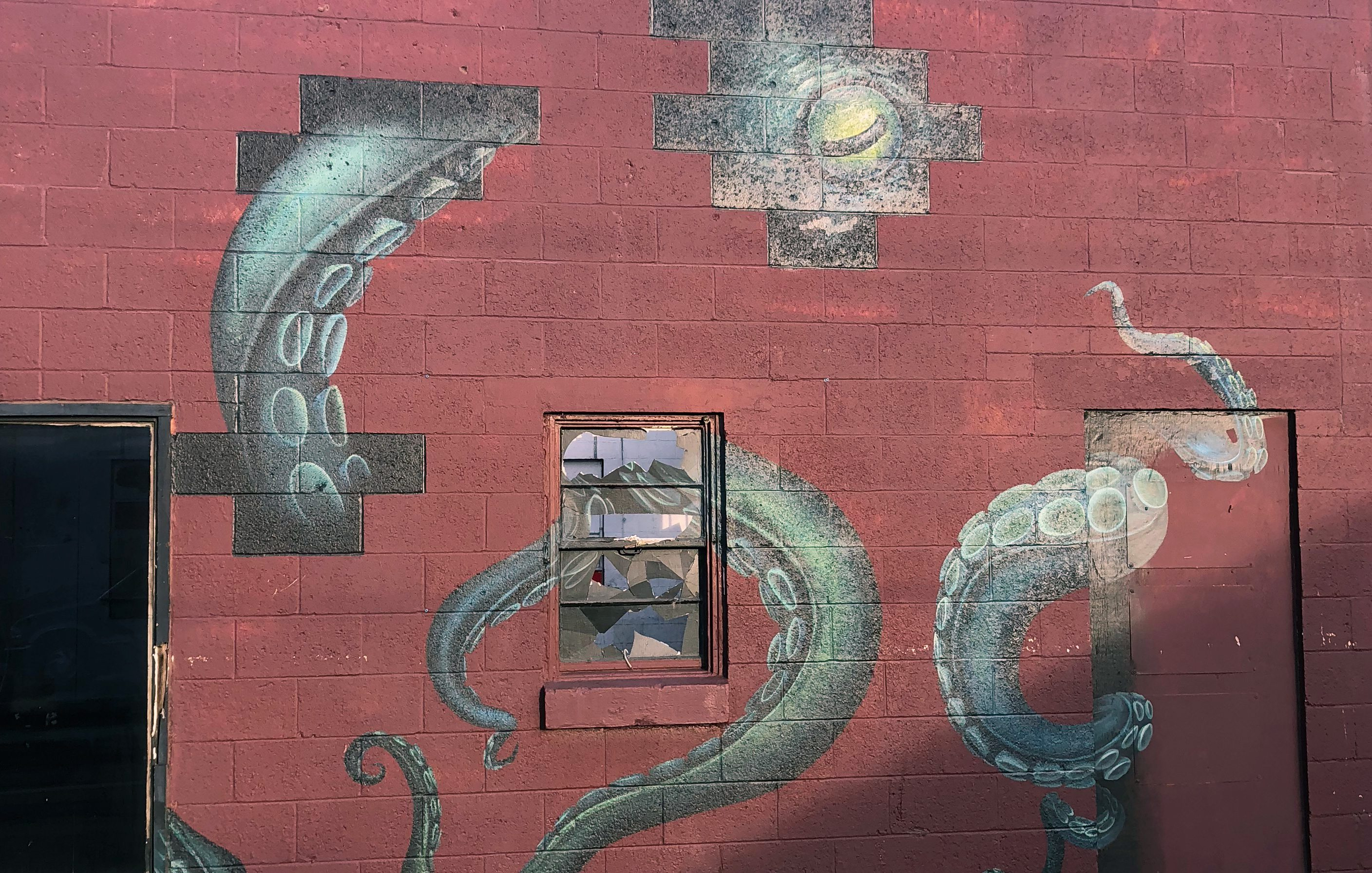 octopus mural in springfield MO