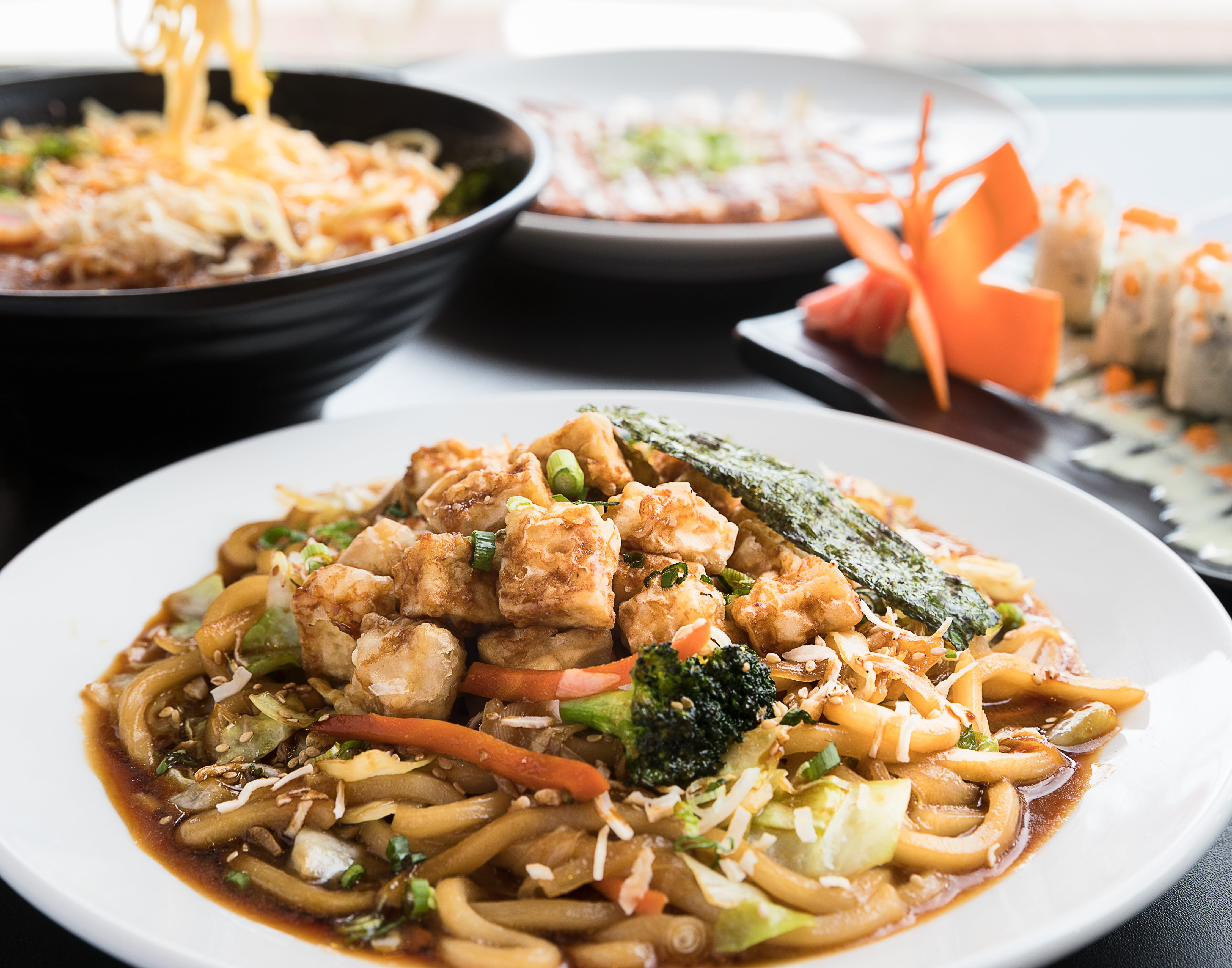 You deserve dinner at omo japanese soul food photos by brandon almsnoodle lovers rejoice omo has ramen bowls and udon stir fries that are customizable with your choice of protein forumfinder Choice Image