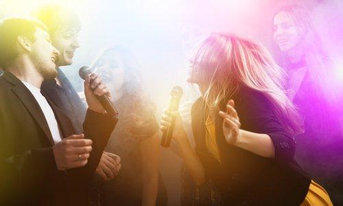 Karaoke at Friend's Karaoke Pub