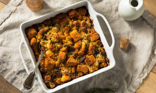 Herb and cornbread stuffing recipe