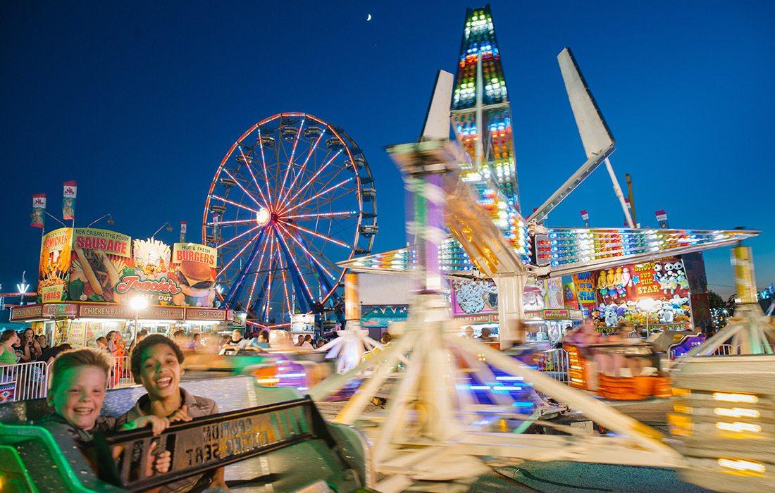 Ferris wheel at Ozark Empire Fair
