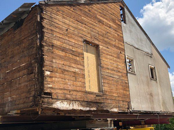 Ozark Mill Foundation Work