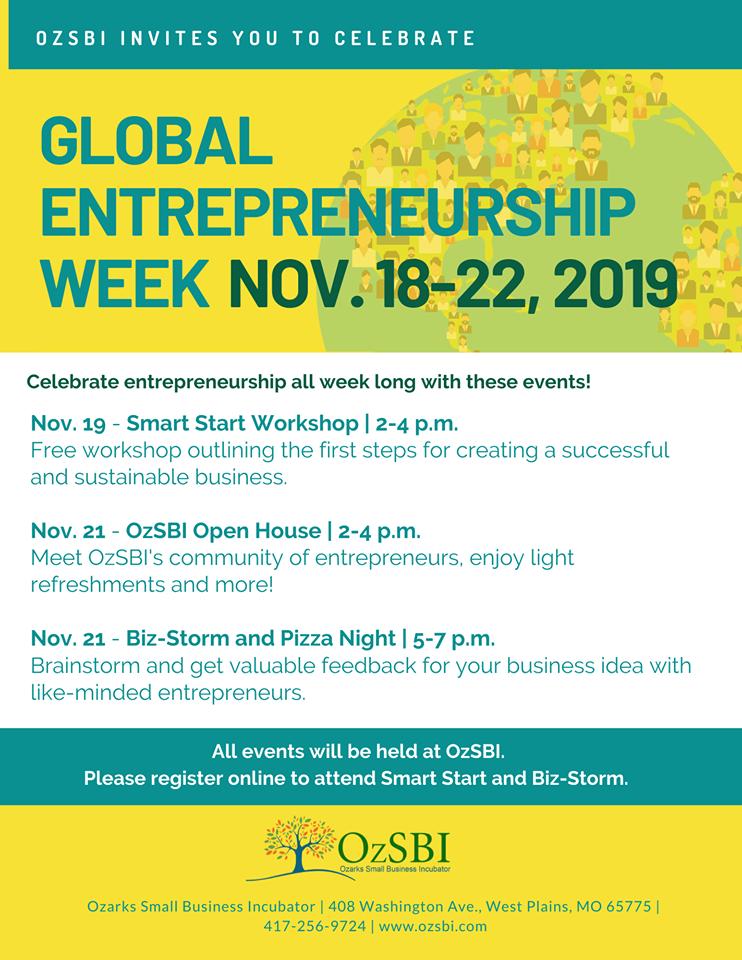 Entrepreneurship celebration week in Springfield, MO