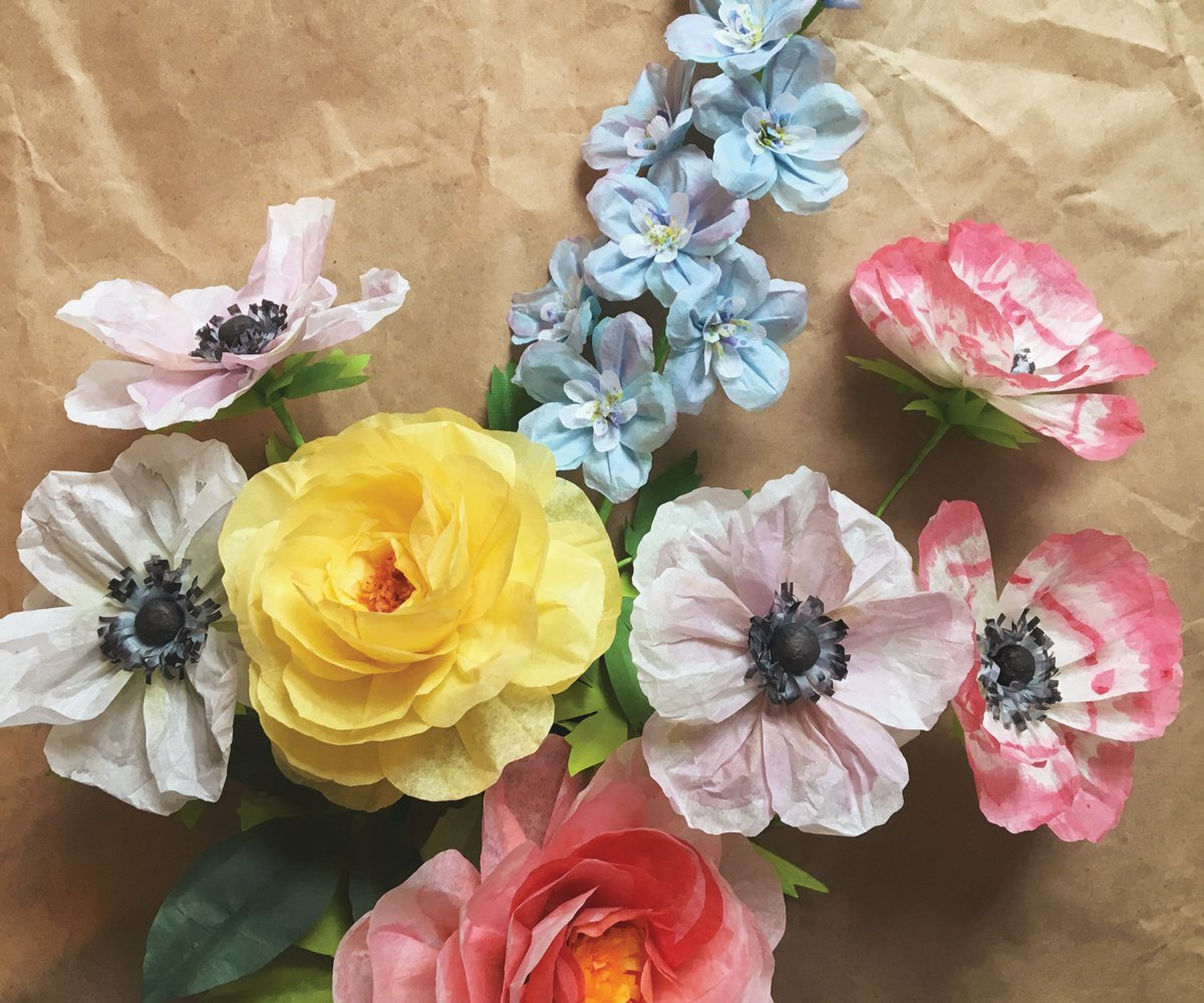 Get crafty with 100 simple paper flowers mightylinksfo