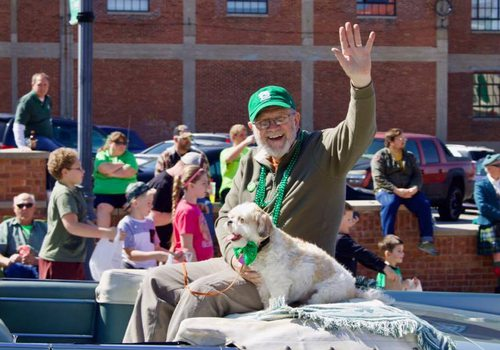 St Patrick's Day Parade in Springfield MO