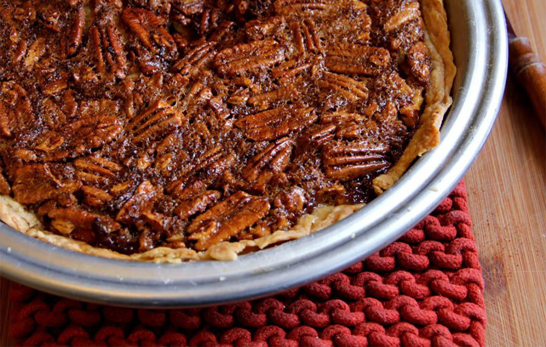 pecan pie before it is cooked
