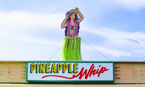 Pineapple Whip's mascot, Lulu