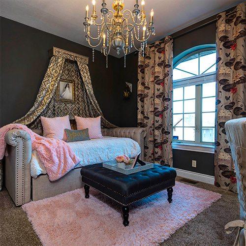 kids princess bedroom decor