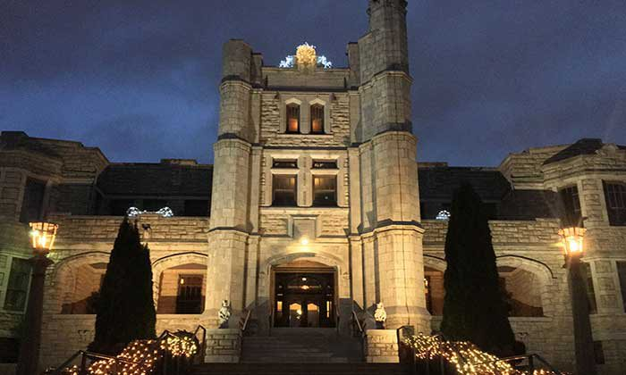 New Year's Eve at Pythian Castle in Springfield, MO