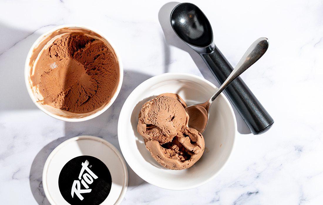 Riot Desserts' dairy-free, sugar-free ice cream