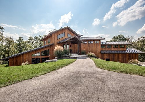 rustic and modern house for sale