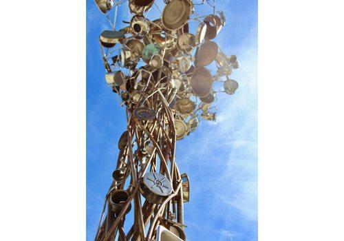 Sculpture walk in Springfield, MO
