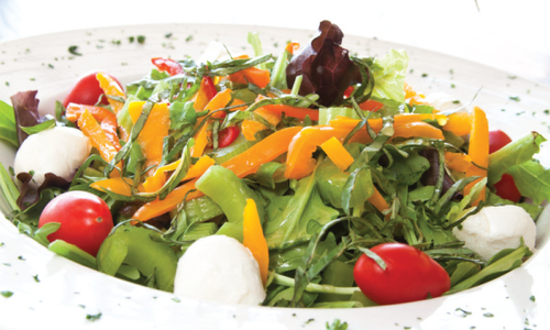Mozzarella Ciliegine Salad from Bruno's Restaurant