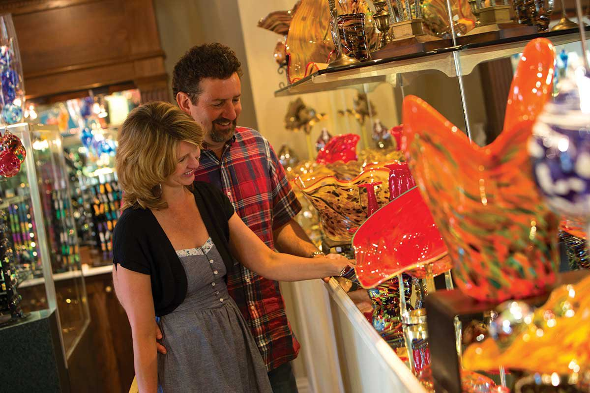 Grand Village Shops Branson MO shopping