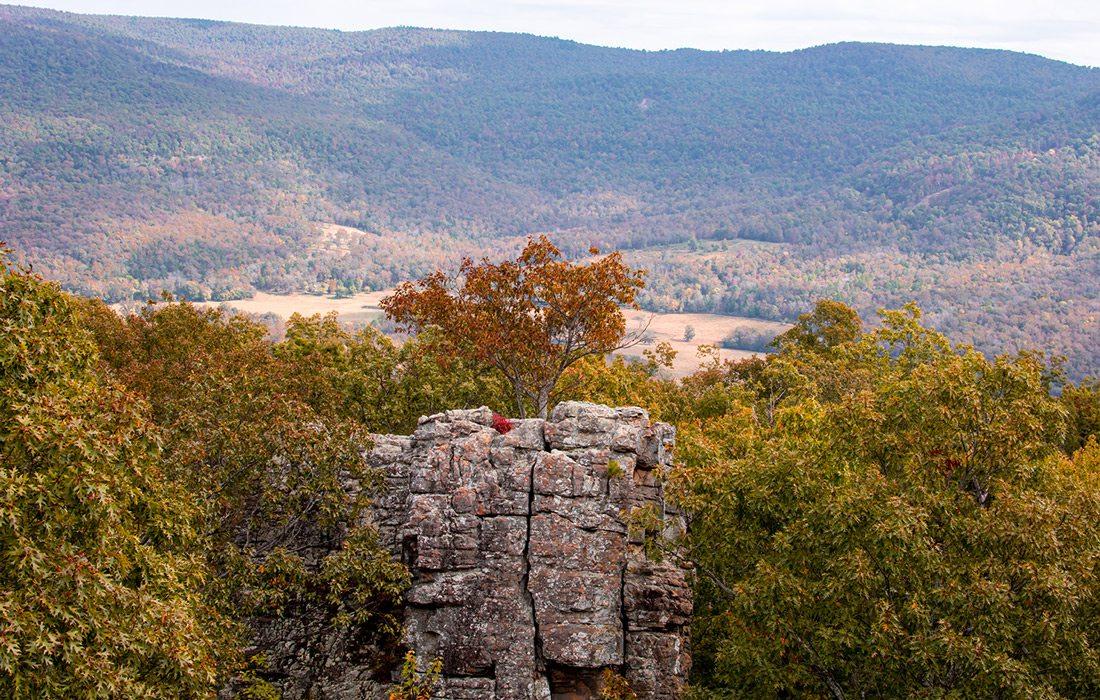 Rock climbing at Horseshoe Canyon Ranch