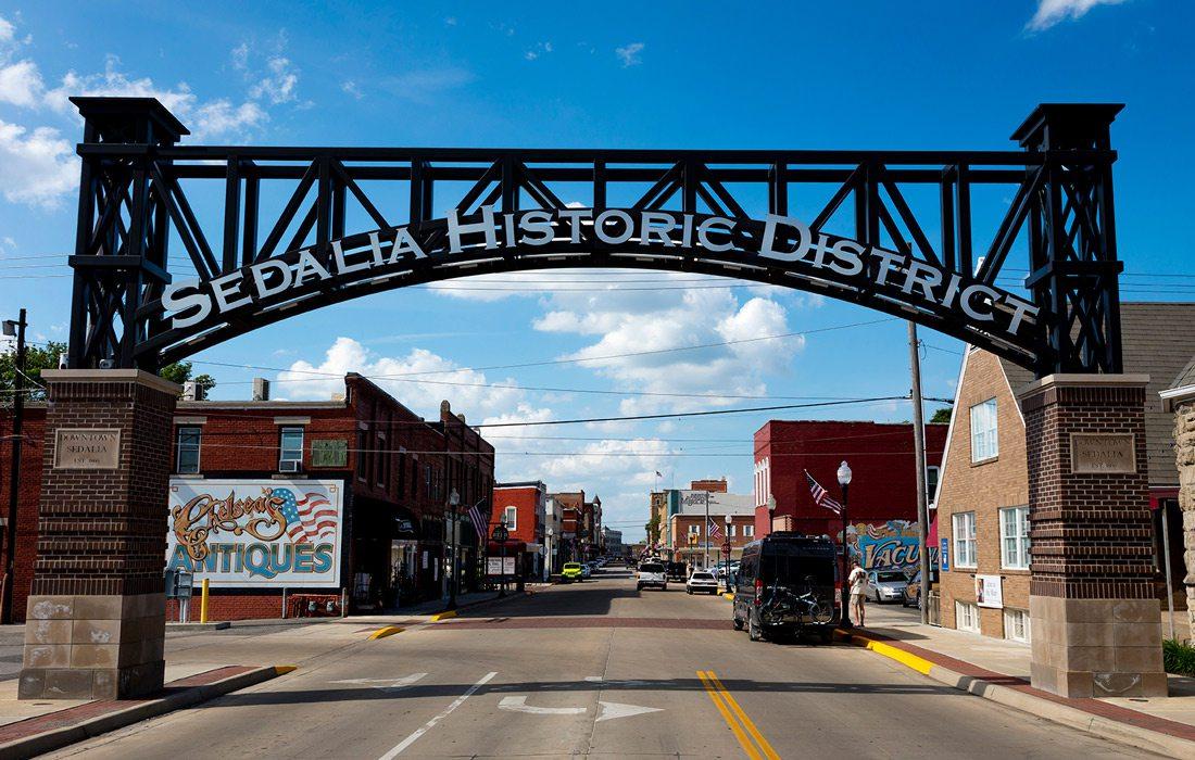 Sedalia Missouri downtown