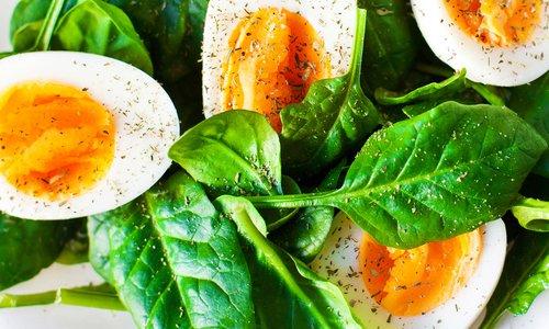 Egg Schmear Salad