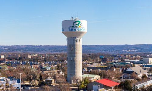 Stock photo of Branson skyline