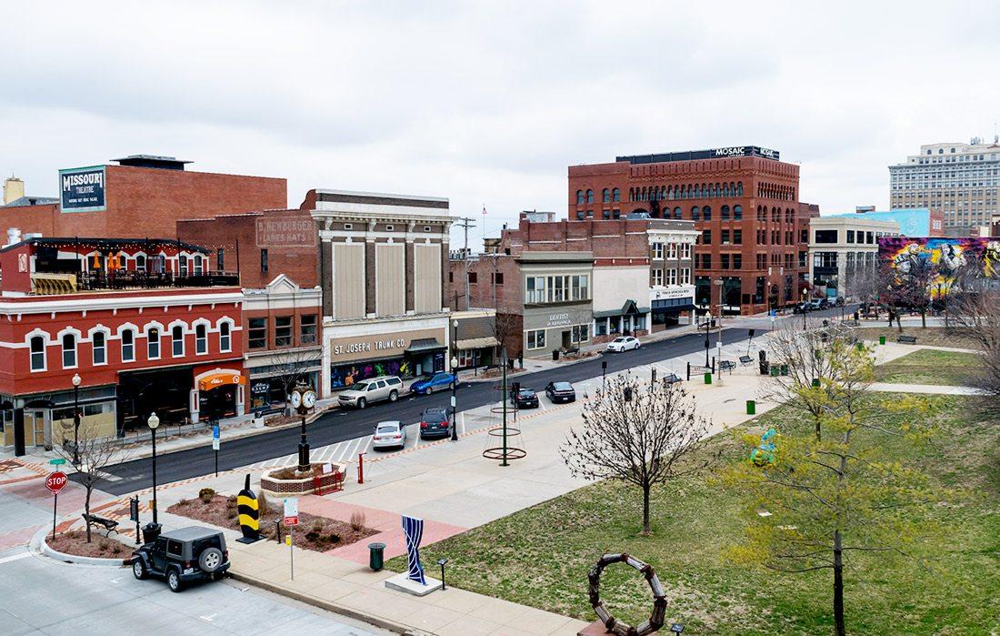 St. Joseph town square