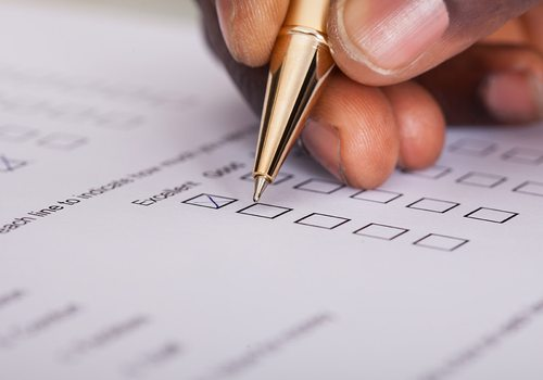 Stock survey photo