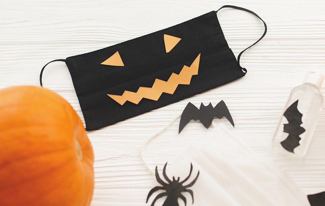 Halloween mask decorations
