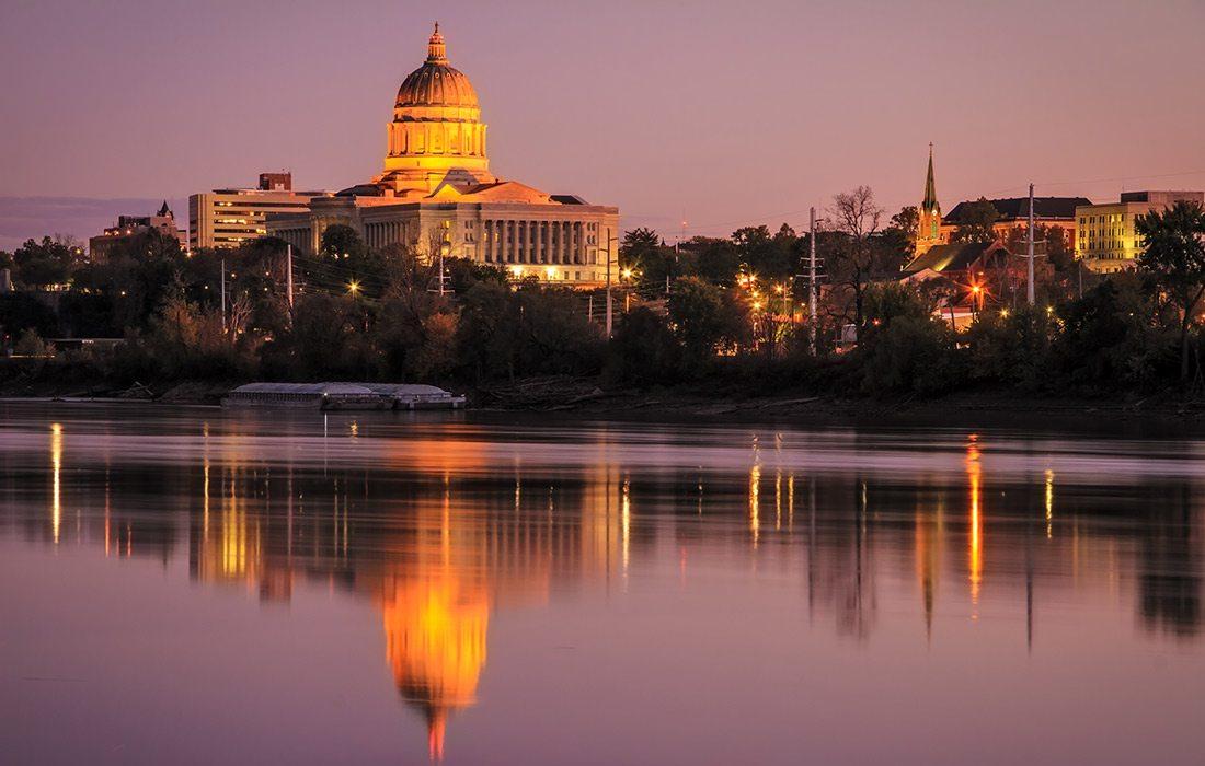 Jefferson City stock photo