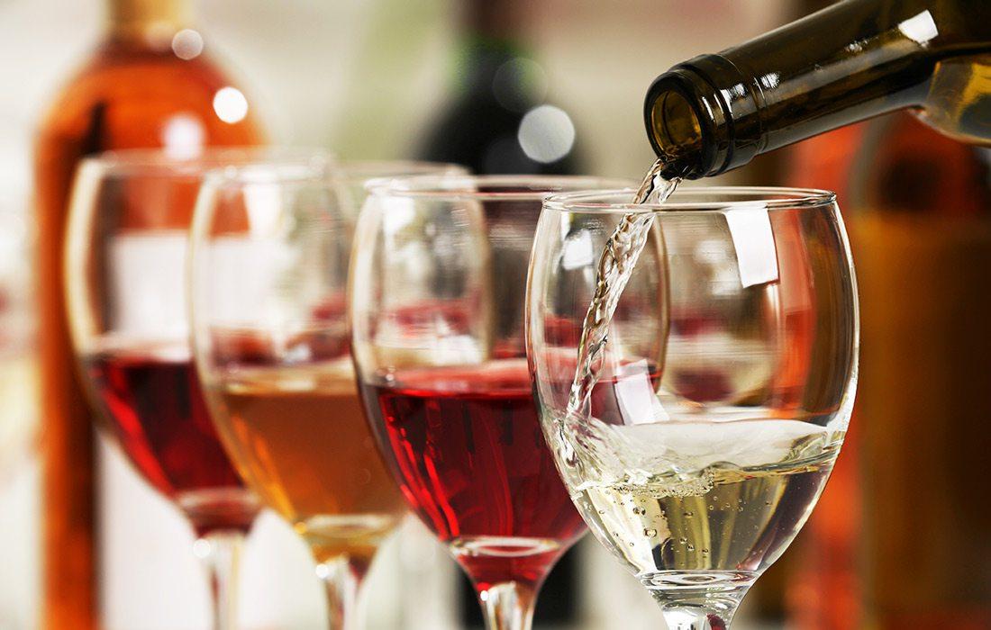 Stock photo of wine
