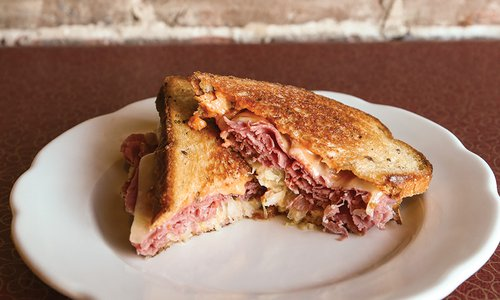 Reuben at Sisters in Thyme