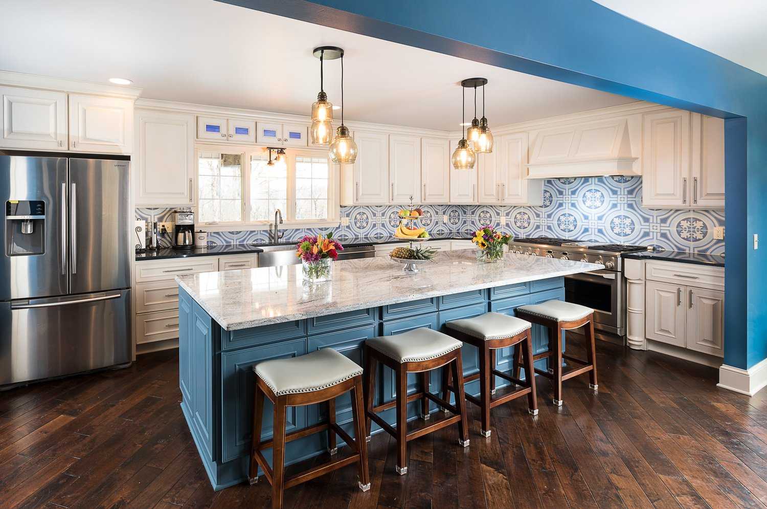 Photo By Brandon AlmsChad Holgerson Of Keystone Building U0026 Design Worked  With His Crew To Transform The Homeu0027s Former Galley Style Kitchen Into An  Open, ...