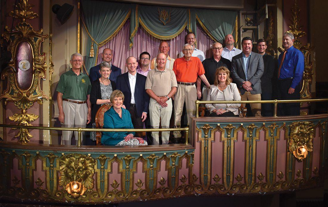 Springfield Little Theatre Board 2019–2020 by Brandon Alms
