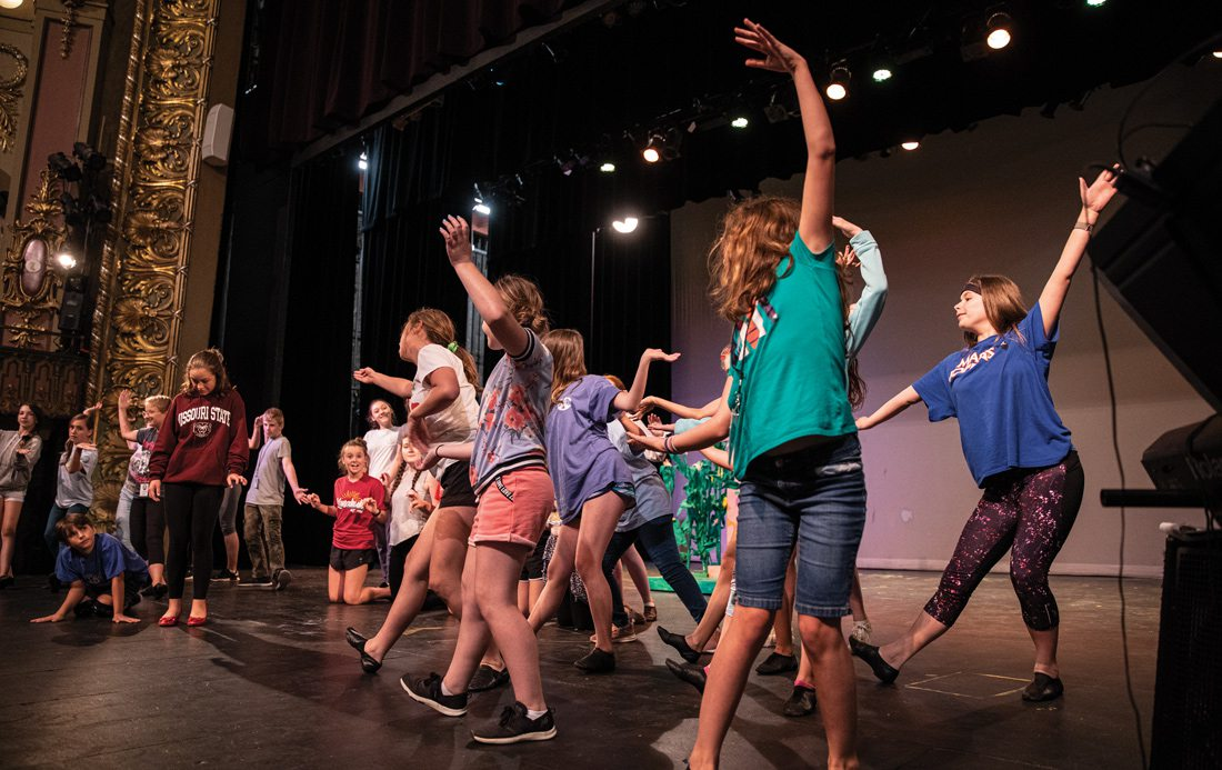 Springfield Little Theatre Education Department Dancers