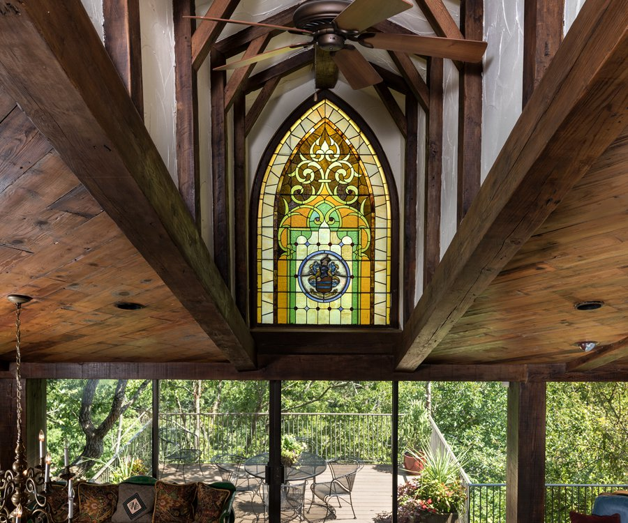 Rivercliff Estate Stained Glass