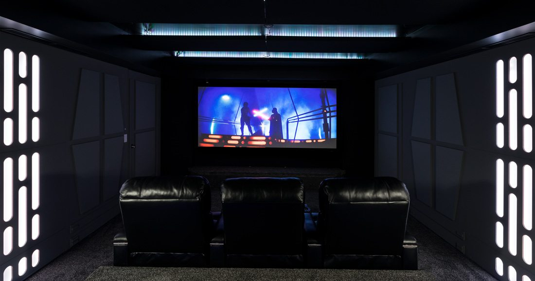 Star Wars Home Theater Screen
