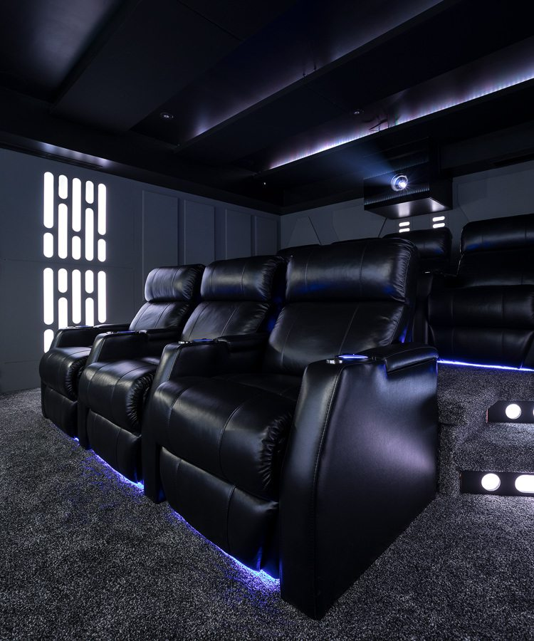 Star Wars Movie theater seats