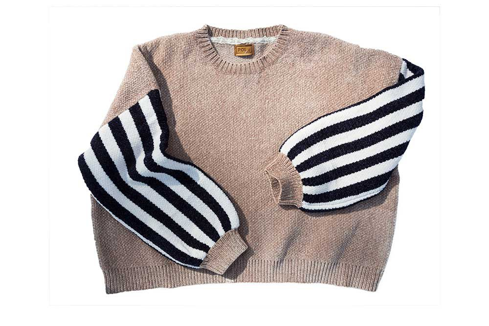 striped sweater from Torn Boutique Truck