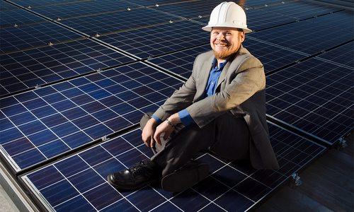 Sun Solar's CEO Caleb Arthur