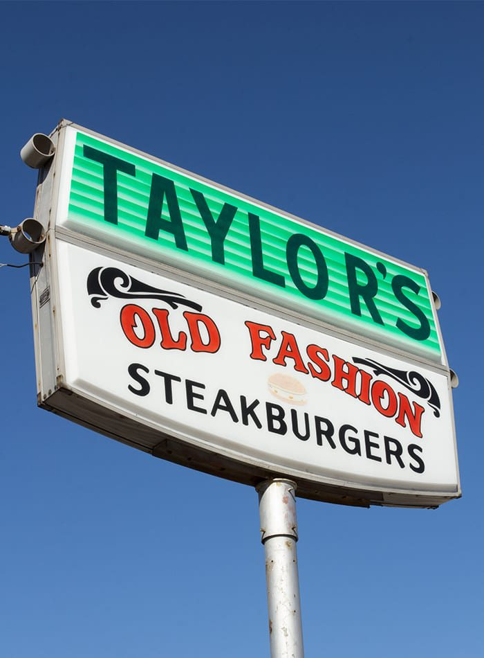 Taylor's Drive-In Sign