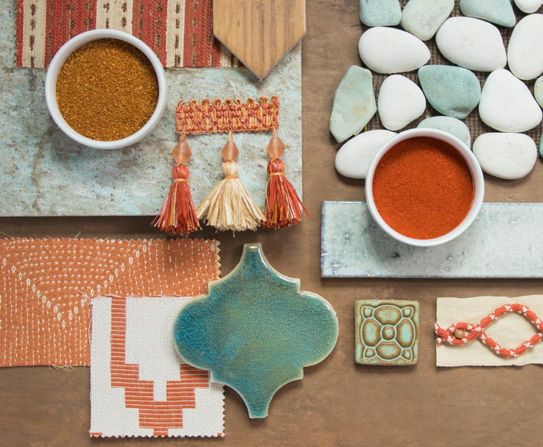 Terra Cotta is a hot summer Home Trend. Potters clay, burnt orange, copper, bronze—no matter what you call it, shades reminiscent of terra cotta add depth to your space.