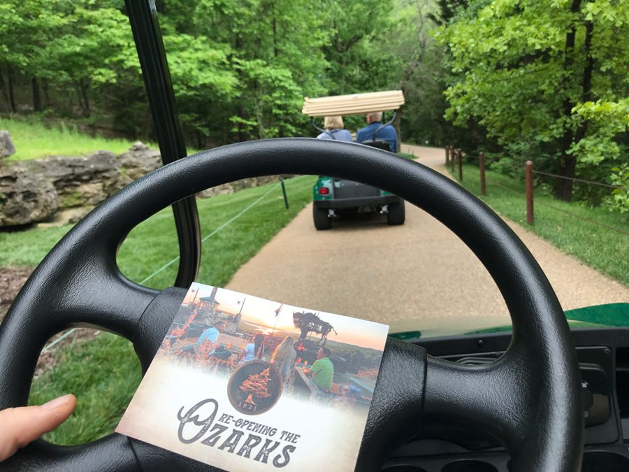 Top of the Rock Lost Canyon Cave & Nature Trail golf cart rental