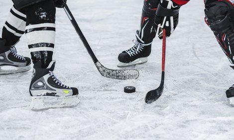 sledding and ice skating