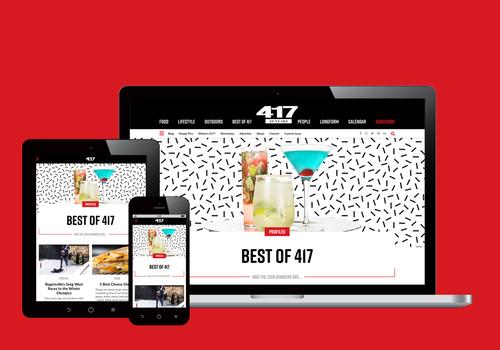 Meet the NEW 417mag.com