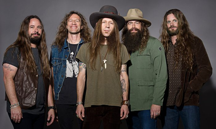 Come see the Texan country group Whiskey Myers