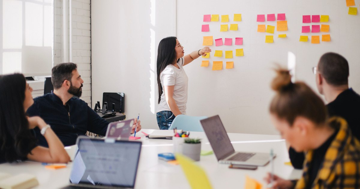 Whiteboard Strategic Planning Session
