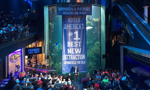 Wonders of Wildlife Voted America's Best New Attraction